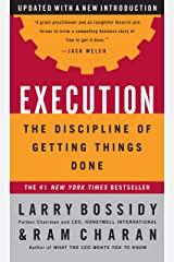 Execution: The Discipline of Getting Things Done Kindle Edition