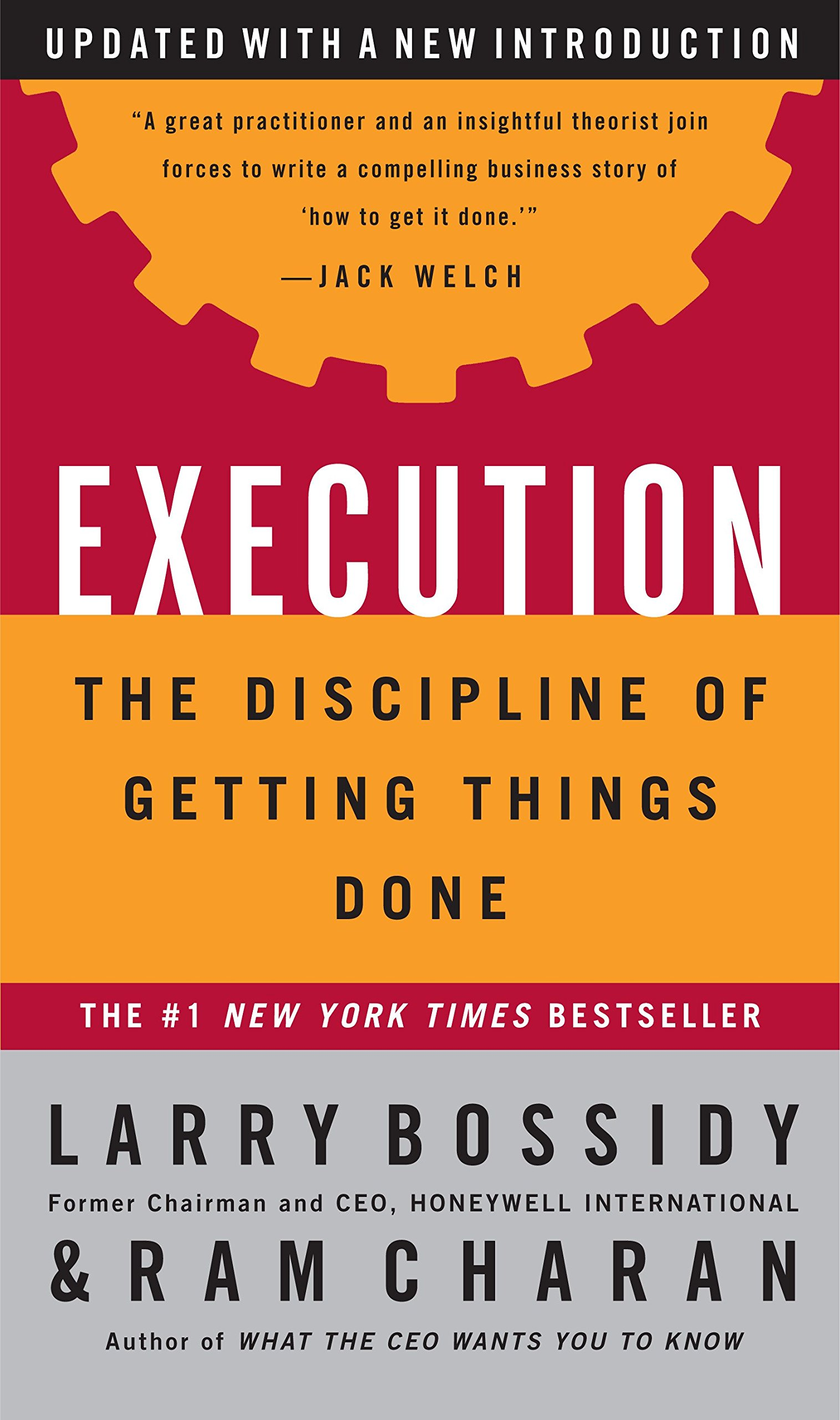 Execution The Discipline Of Getting Things Done Larry Bossidy Ram