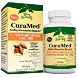 Terry Naturally CuraMed 750 mg - 120 Softgels - Superior Absorption BCM-95 Curcumin Supplement, Promotes Healthy…