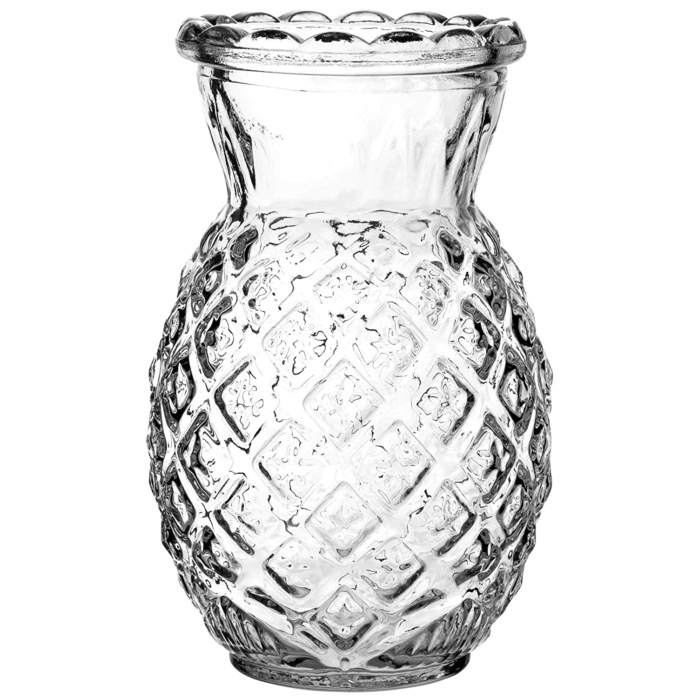Tiki Pineapple Cooler Glass Set of 2