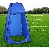 Qulista Tente Camping Portable Pop Up Instantanée Multifonction Léger Portable Doux Amovible Cabine de Toilette avec Sac de Transport