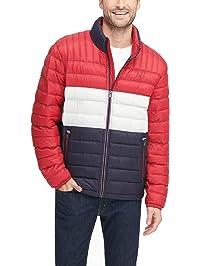 Tommy Hilfiger Mens Ultra Loft Packable Puffer Jacket Down Alternative Coat