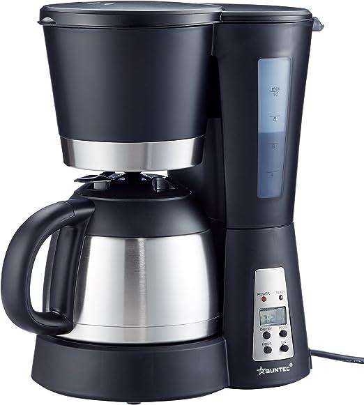 Home Essentials KAM-9004 Cafetera de filtro, 800 W, negro: Amazon ...
