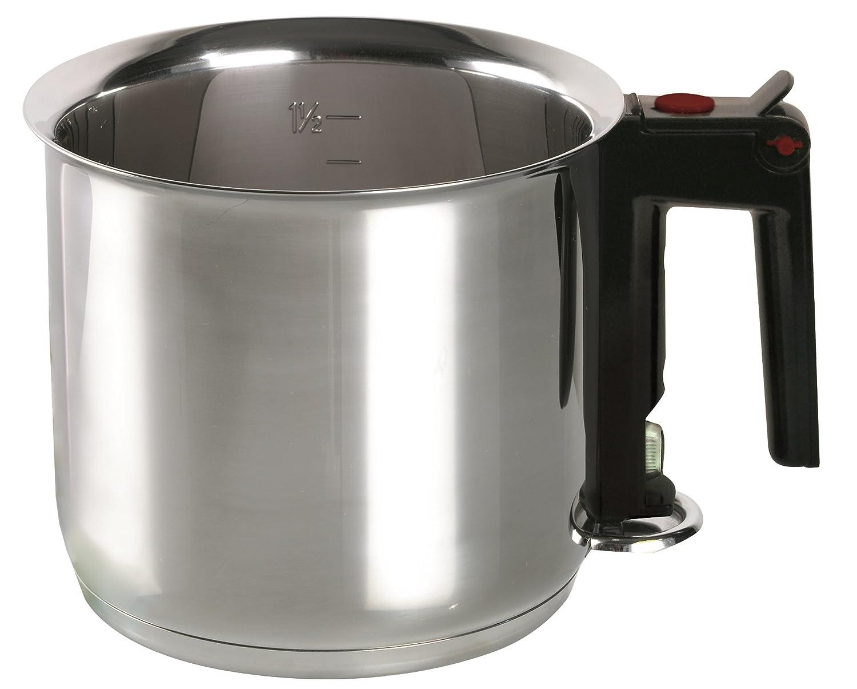 ELO 99414 Stainless Steel 1.6-Quart Double Boiling Simmer Pot, Induction Ready Leuble Inc./ELO 99414_Edelstahl-16 cm