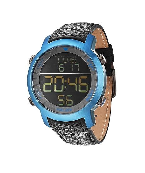 Police - Reloj de Pulsera para Hombre XL Digital Cuarzo Piel pl.12898jsbl/02: Amazon.es: Relojes