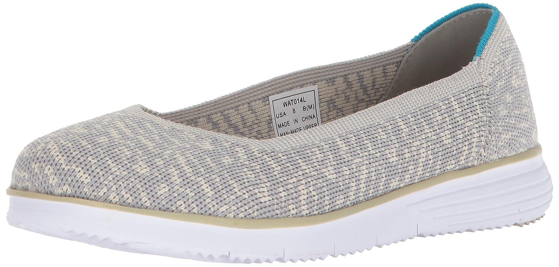 Propét Frauen Flache Schuhe Taupe/Grau