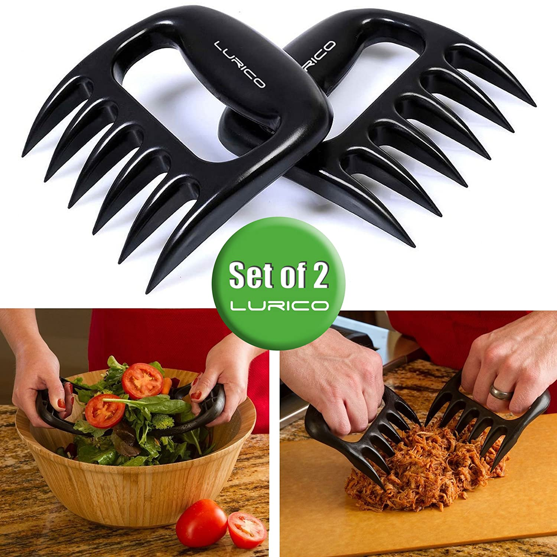 lurico fleischkrallen fleischgabeln bbq claws meat. Black Bedroom Furniture Sets. Home Design Ideas