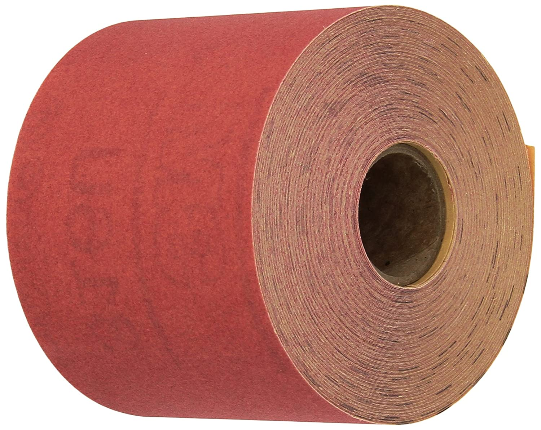 3M 01682 Stikit Red 2-3/4 x 25 Yard P320 Grit Abrasive Sheet Roll
