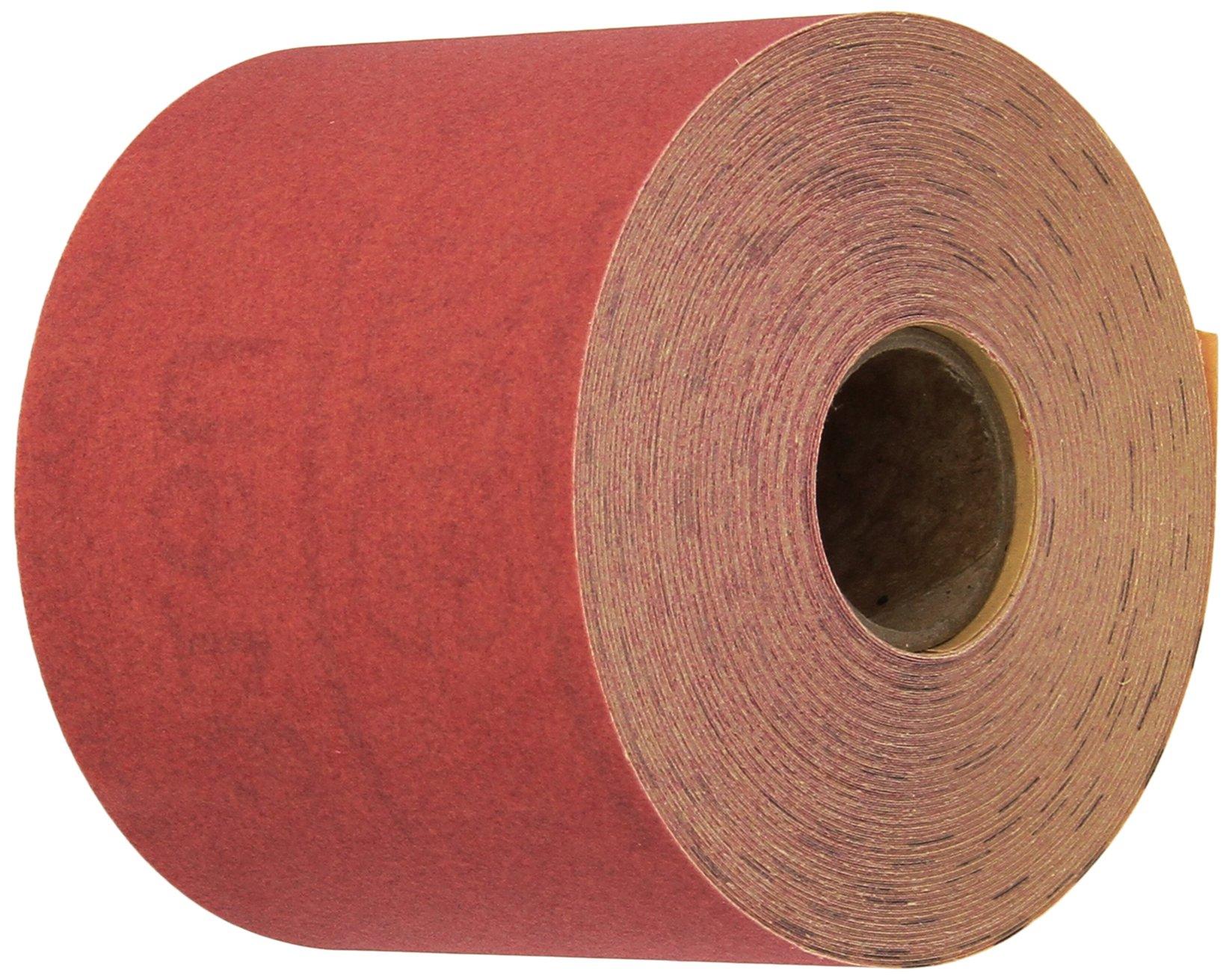 3M 01682 Stikit Red 2-3/4'' x 25 Yard P320 Grit Abrasive Sheet Roll by 3M