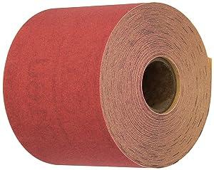 3M Red Abrasive Stikit Sheet Roll, 01682, P320, 2-3/4 in x 25 yd