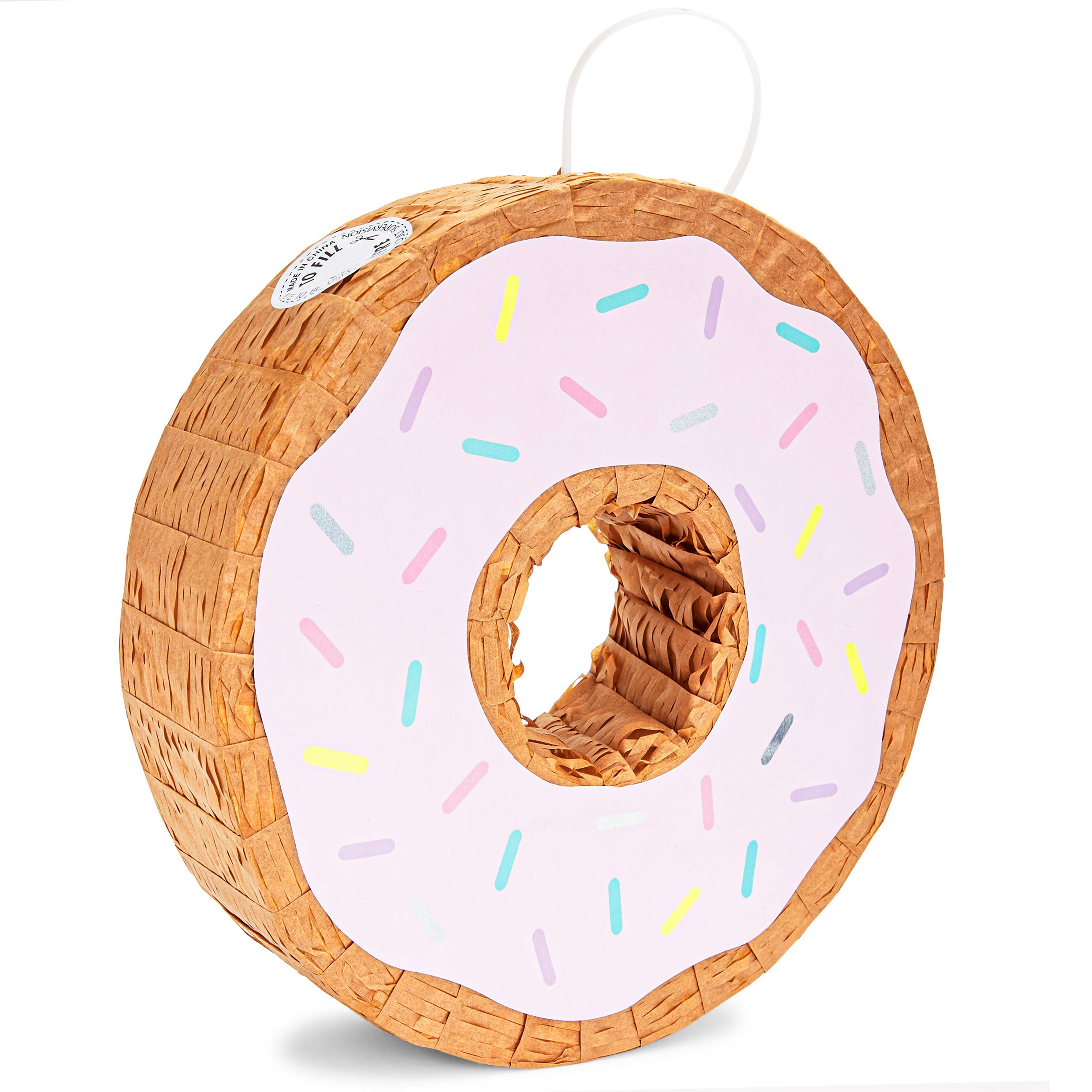 Donut Pinata (12.75 x 3 in, Pink)