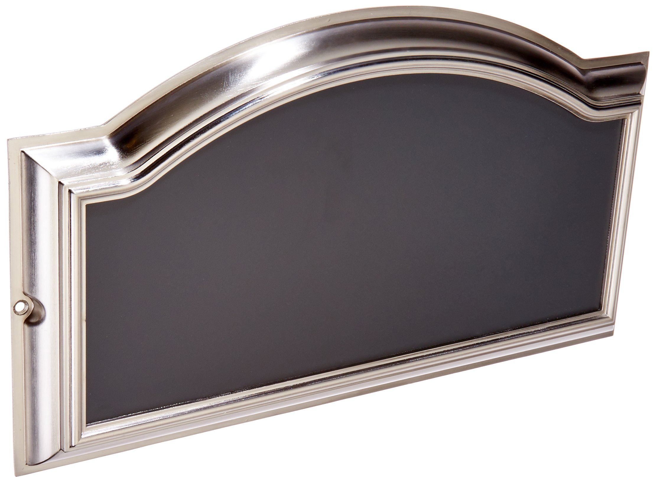 The Hillman Group 843267 Distinctions Address Plaque, Brushed Nickel Number