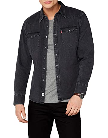 Levi s L S Barstow Western Shirt Camisa Casual para Hombre 77447ed979b