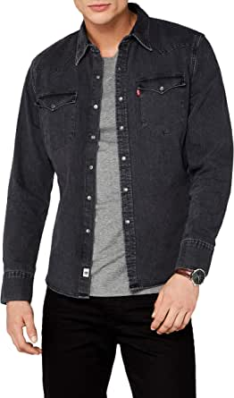 Levis L/S Barstow Western Shirt Camisa Casual para Hombre