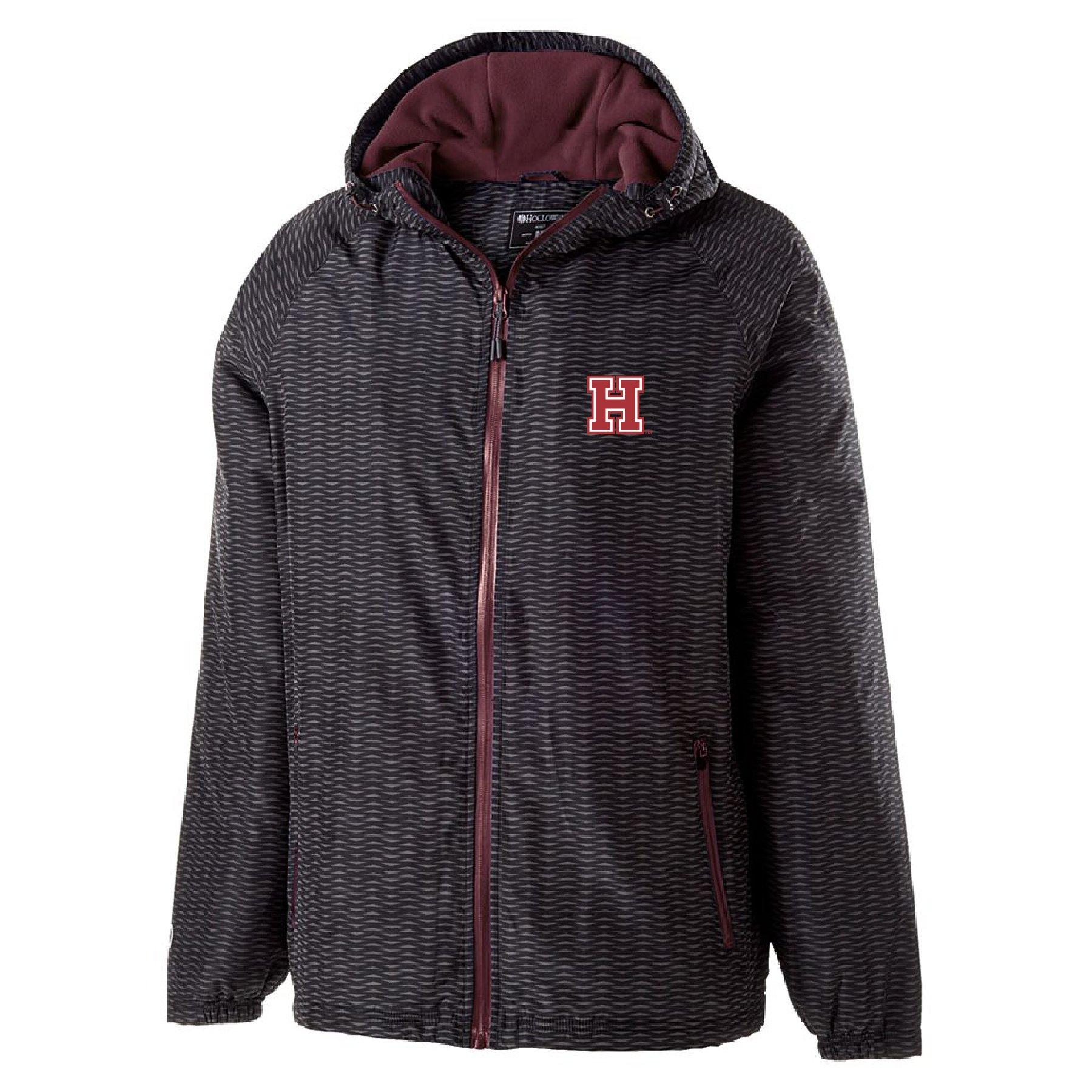Ouray Sportswear NCAA Harvard Crimson Range Jacket, Large, Maroon