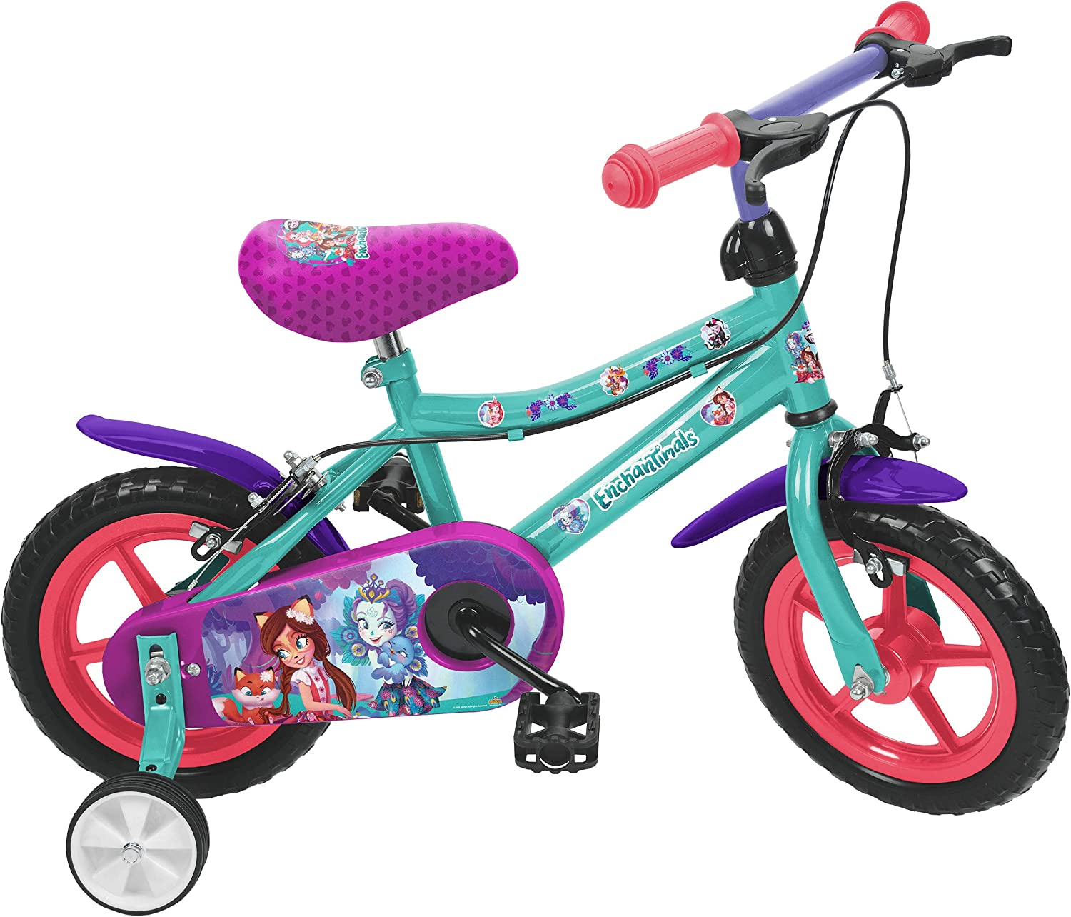 Enchantimals Saica 8821, Bicicleta 12
