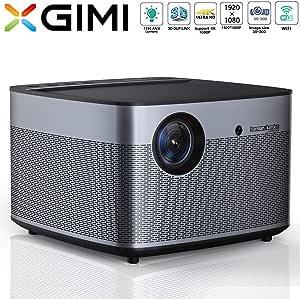 XGIMI H3 Android 3D Home Cinema 4K Smart TV Projector   Native 1080p HD   1900 ANSI Lumens   Harman/Kardon Hi-Fi Stereo Speaker