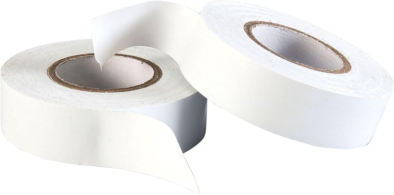 19 mm x 33 m Blanc Électrique PVC Isolation//ruban isolant ignifuge