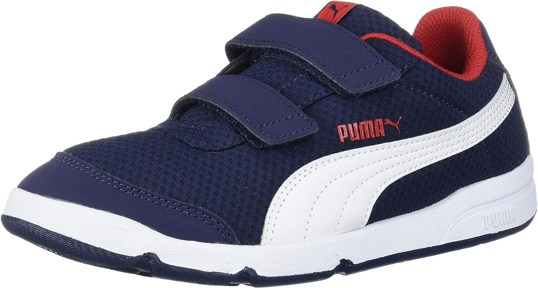 PUMA Kids' Stepfleex Velcro Sneaker