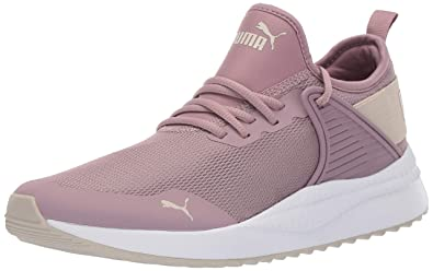 6d784606 PUMA Women's Pacer Next Cage Sneaker, Elderberry-Silver Gray, ...
