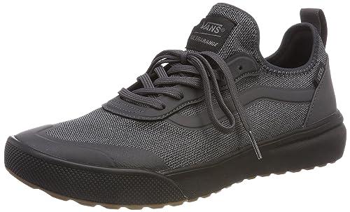 Vans Mens Asphalt Black Knit Ultrarange Ac Sneakers-UK 9  Amazon.ca ... 7ec55d60a