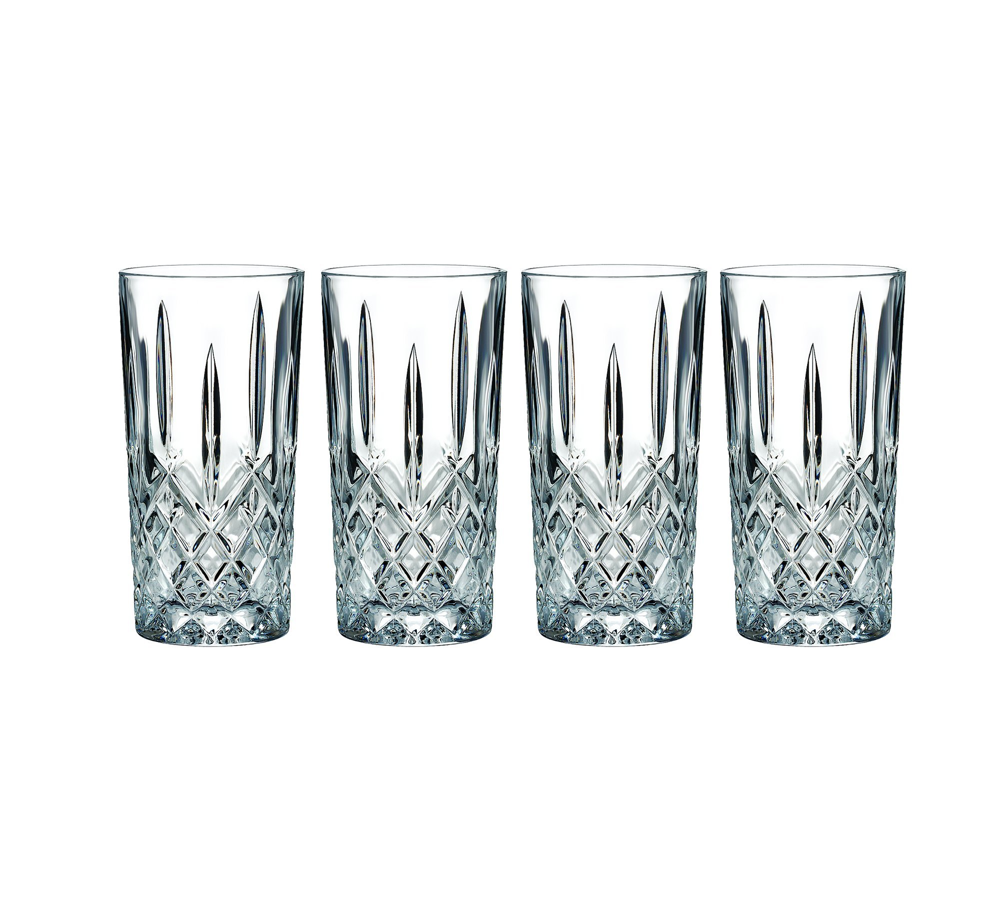 Marquis by Waterford 165119 Markham Hiball Collins Glasses, Set of 4 by Marquis By Waterford