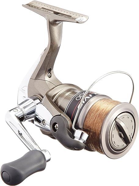 NEW SHIMANO fishing reel Aribio 1000 with No 2 line