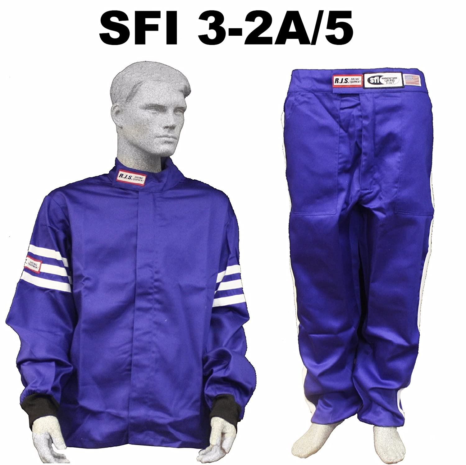 RJS RACING ADULT SFI 3-2A//1 CLASSIC ADULT SMALL FIRE SUIT PANTS YELLOW