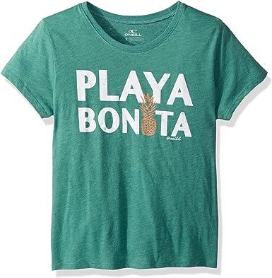 ONeill Big Bonita - Camiseta de manga corta para niña - Azul - Small: Amazon.es: Ropa y accesorios