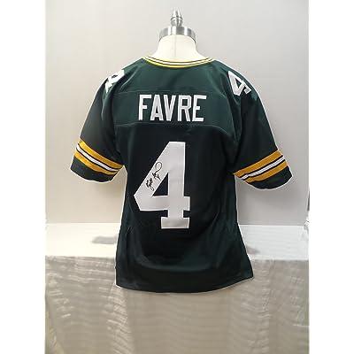 low priced 08d20 03d28 Brett Favre Signed Green Bay Packers Custom Green ...