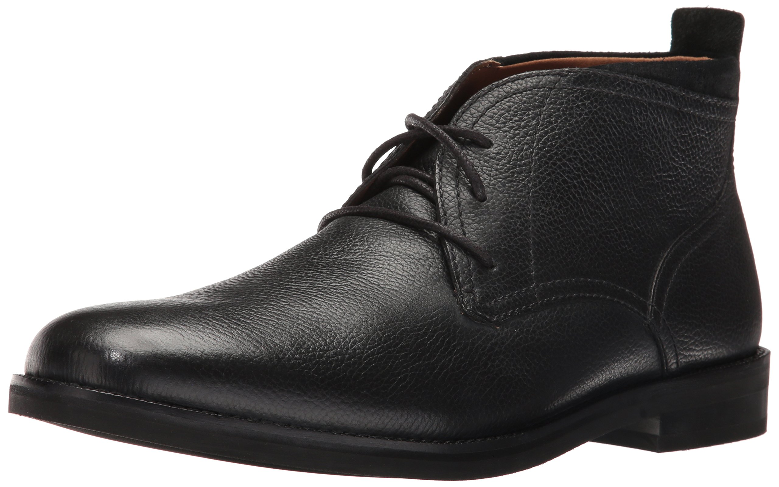 Cole Haan Men's Ogden Stitch II Chukka Boot, Black Tumble, 11.5 Medium US by Cole Haan
