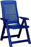 Best 18200320 silla de jardín - sillas de jardín (Dining, Grid, Asiento duro) Azul