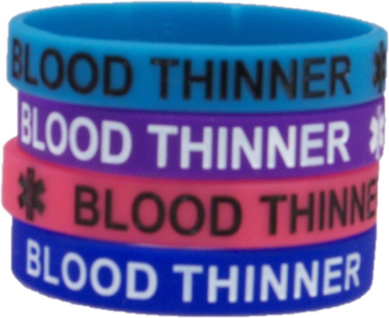 Blood Thinner Regular Size Bracelet Choose Your Color