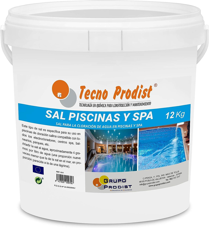 Tecno Prodist Sal Piscinas Sal Especial para la cloración Salina ...
