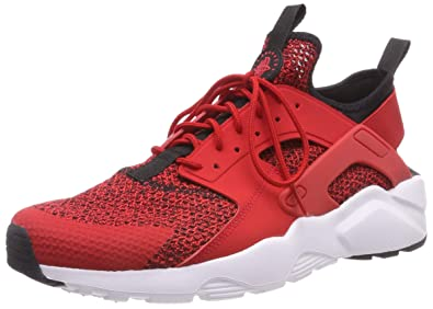 check out 45ce5 bb013 Nike Men s s Air Huarache Run Ultra Se Gymnastics Shoes, (University Red  Black
