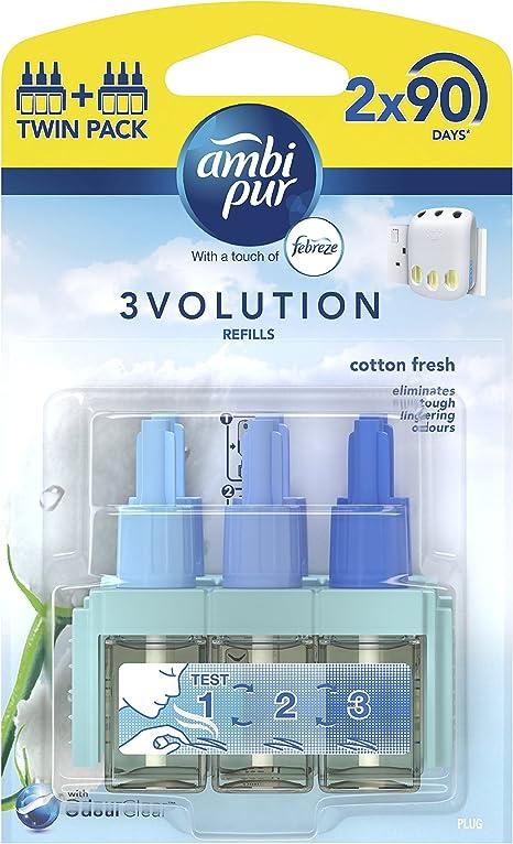 Ambi Pur 3 Volution Plug In Lufterfrischer Refill 20 Ml 2 Stück Drogerie Körperpflege