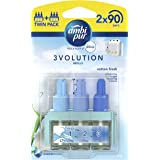 Ambi Pur 3Volution Cotton Fresh Plug-In Air Freshener Refill 20 ml (Pack of 2)