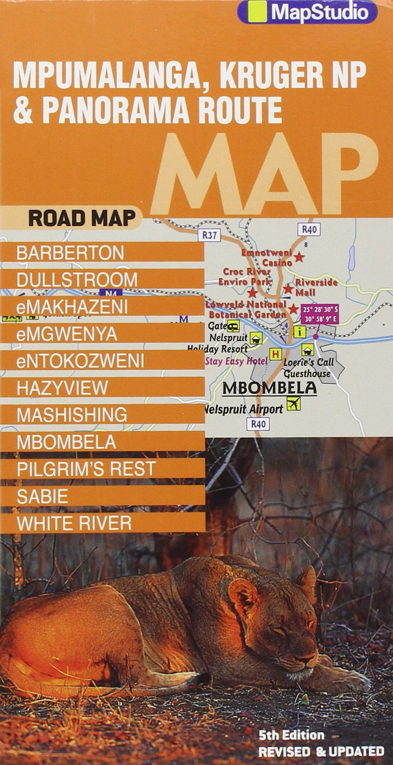 Mpumalanga road map: Kruger National Park & Panorama Route