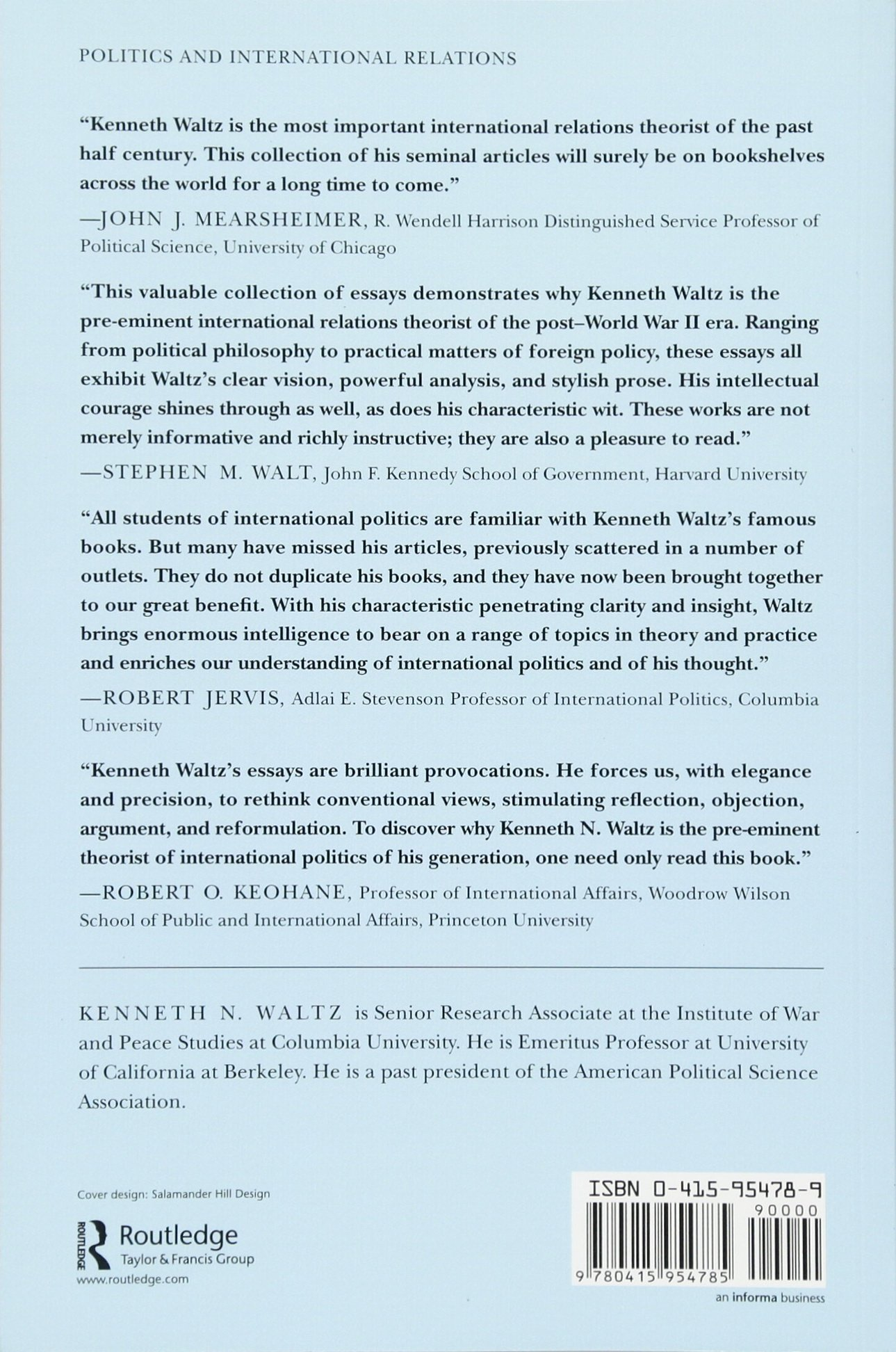 realism and international politics the essays of ken waltz  realism and international politics the essays of ken waltz amazon co uk kenneth n waltz 9780415954785 books