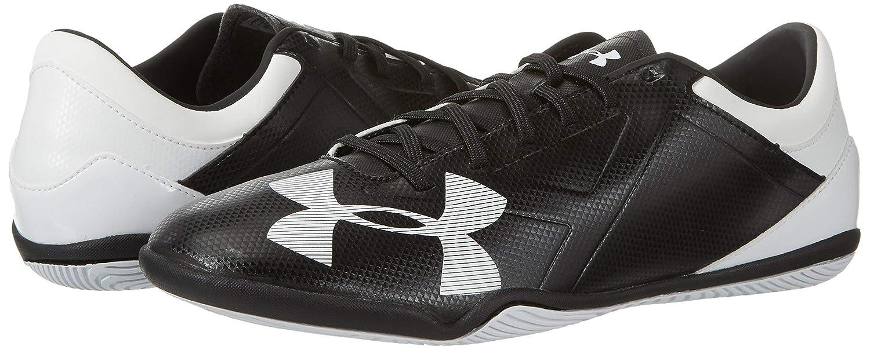 Under Armour New Soccer Spotlight Boot for Indoor Surfaces Men 10.5 Black//White