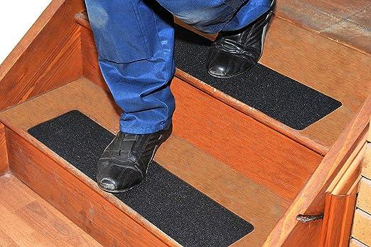 antideslizante PISADAS DE ESCALERA / revestimientos ideal para interior y exterior (foot-friendly, 600mm x 150mm): Amazon.es: Jardín