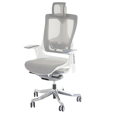 Bürostuhl weiß grau  Bürostuhl MERRYFAIR Wau 2, Schreibtischstuhl Drehstuhl, Polster ...