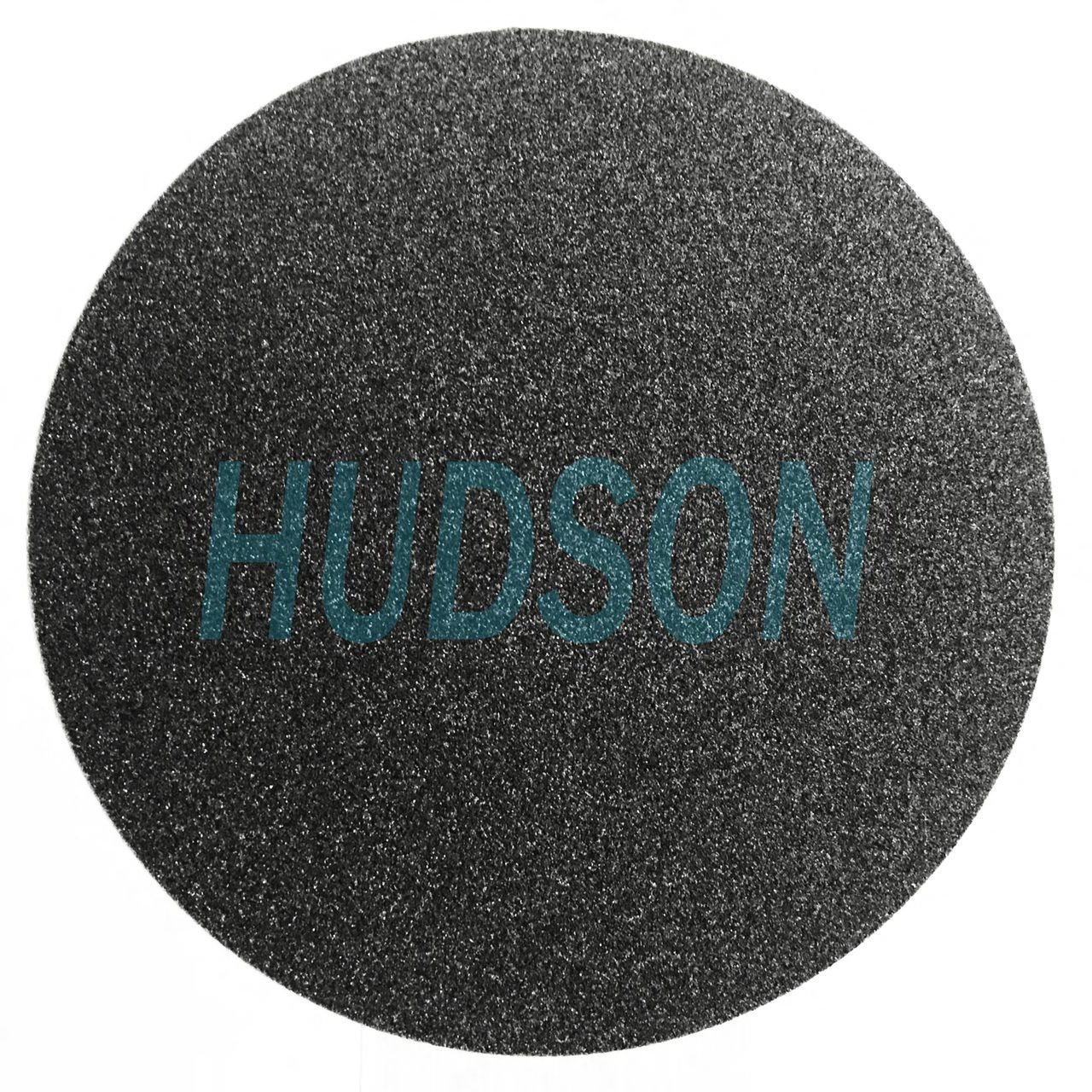 HUDSON 250mm SiC, C-Weight Paper, Wet/Dry. Metallurgical Paper Plain Back 80 Grit Abrasive Discs (100 Pack) by HUDSON