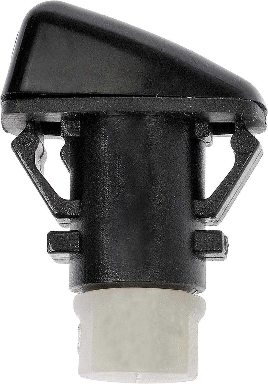 Black Dorman 58132 Windshield Washer Nozzle for Select Dodge Models