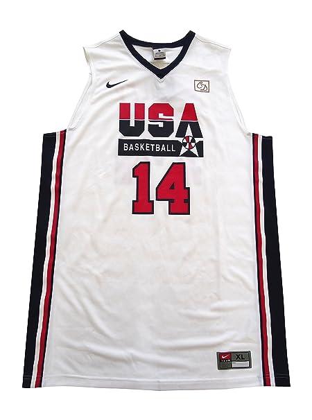 newest 7fb35 05461 Amazon.com: NIKE USA basketball dream team 1992 replica ...