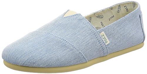 Paez Original-Combi, Alpargatas para Mujer, Azul (Light Blue 311), 36 EU: Amazon.es: Zapatos y complementos