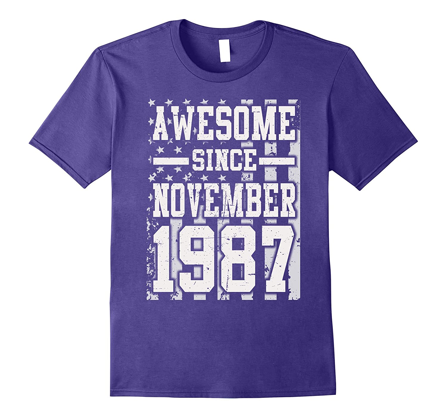 Awesome Since Legends Born In NOVEMBER 1987 Gift 30 Year Old-FL
