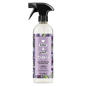 Love Home and Planet Multipurpose Cleaner Spray, Lavender & Argan Oil, 23 oz