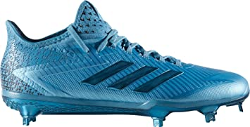 928c21a9599 adidas Men s Adizero Afterburner 4 Dip Baseball Cleats(Light Blue ...