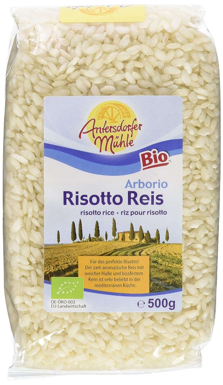 Antersdorfer Mühle Risottoreis weiß (1 x 500 g): Amazon.de: Lebensmittel & Getränke - Risotto